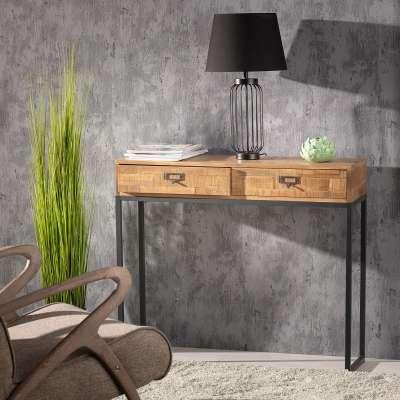 Boční stolek - konzola Factory 90 x 28 x 78 cm Psací stoly, boční stolky a konzoly - Dekoria-home.cz