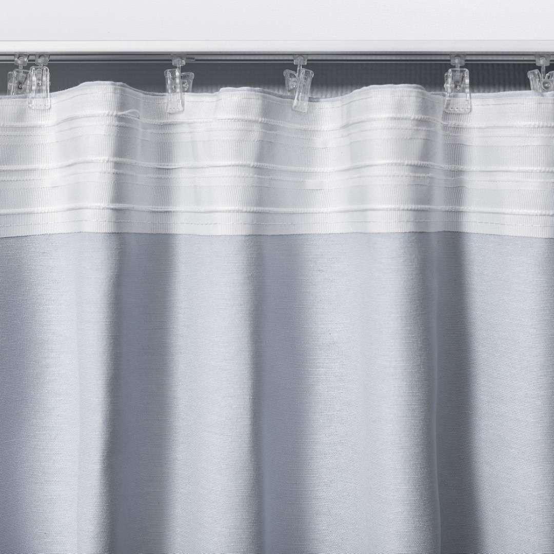 Mörkläggande gardin med rynkband 1 längd i kollektionen Blackout (mörkläggande), Tyg: 269-99