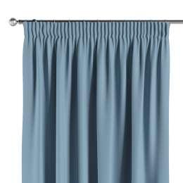 Mörkläggande gardin med rynkband 1 längd  - Dekoria.se