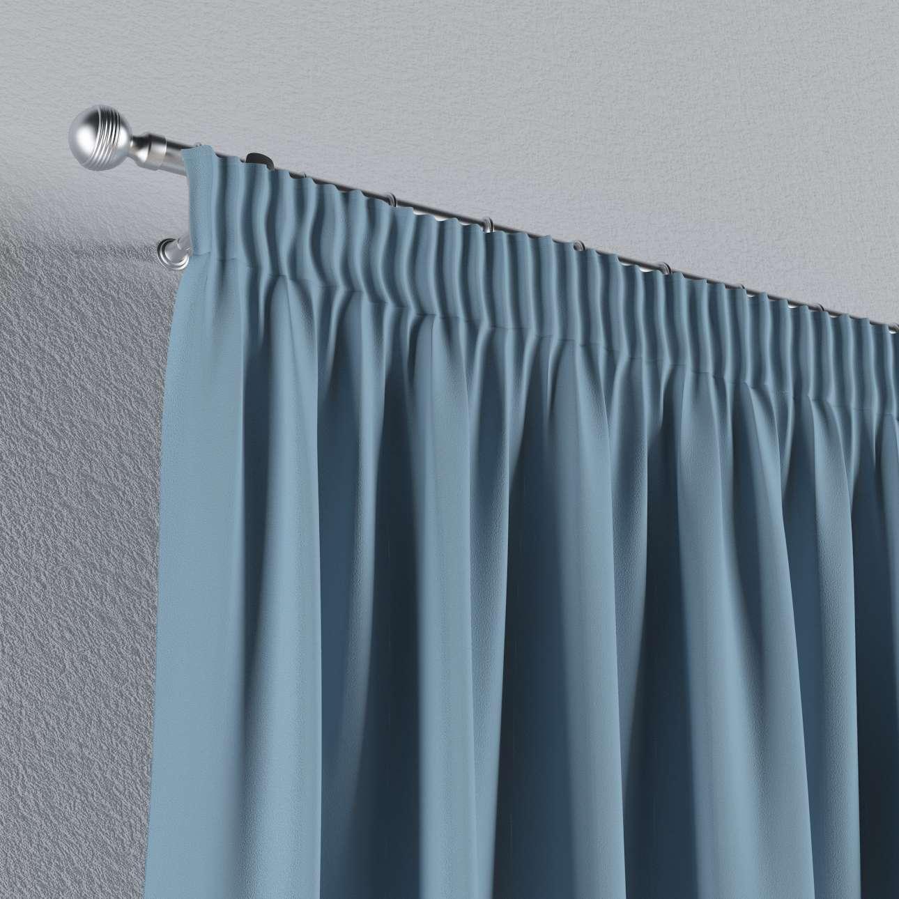 Mörkläggande gardin med rynkband 1 längd 140x260 cm i kollektionen Blackout (mörkläggande), Tyg: 269-08