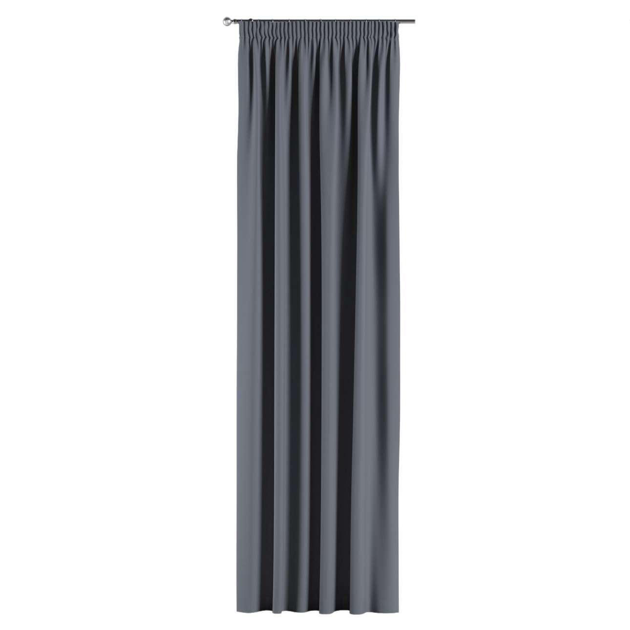 Závěs zatemňující na řasící pásce 140x260 cm v kolekci Blackout, látka: 269-76