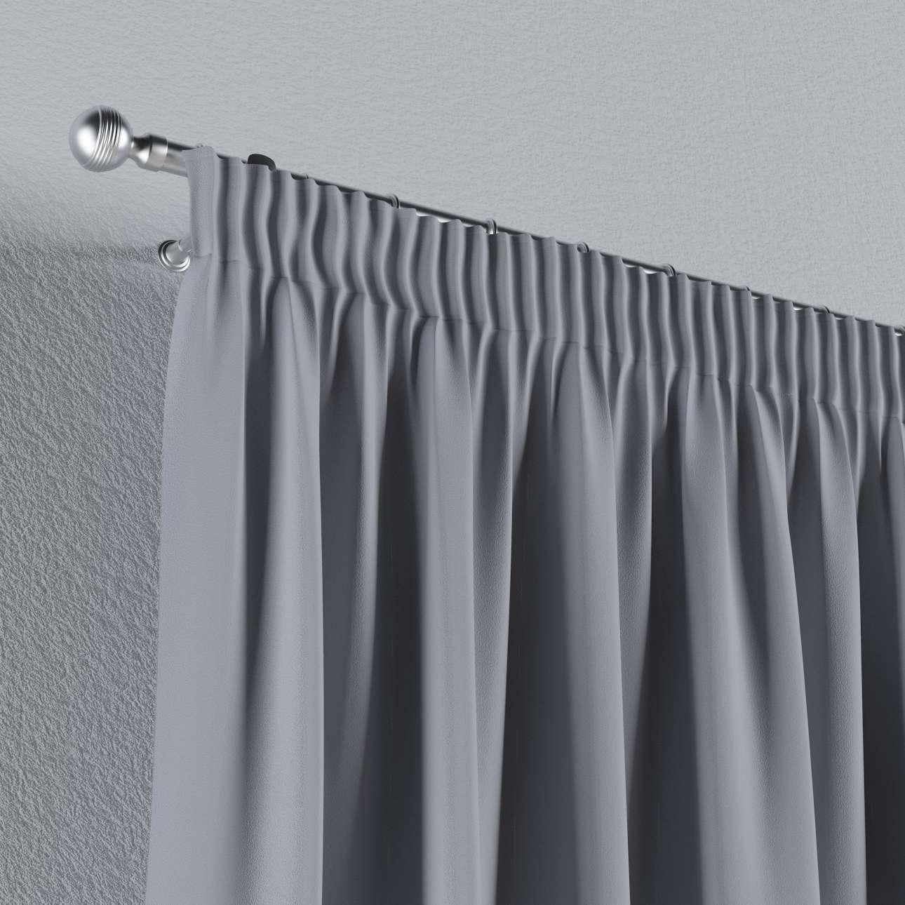Mörkläggande gardin med rynkband 1 längd 140x260 cm i kollektionen Blackout (mörkläggande), Tyg: 269-96