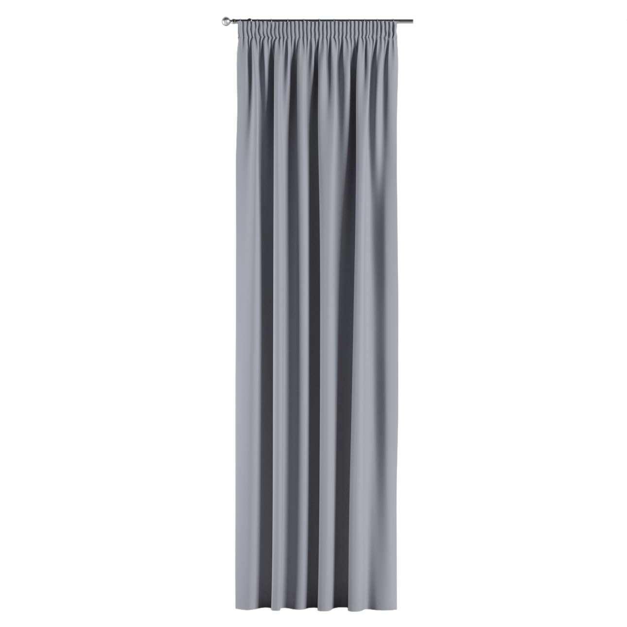 Lystet gardin med rynkebånd 1 stk. fra kolleksjonen Blackout (mørklegging), Stoffets bredde: 269-96
