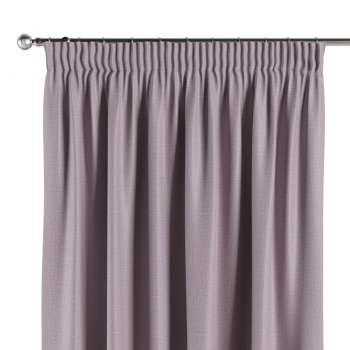 Blackout pencil pleat curtains