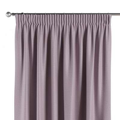 Blackout pencil pleat curtain 269-60 heather Collection Blackout