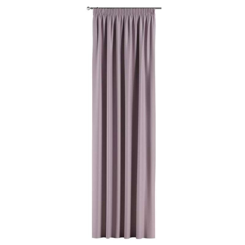 Mörkläggande gardin med rynkband 1 längd i kollektionen Blackout (mörkläggande), Tyg: 269-60