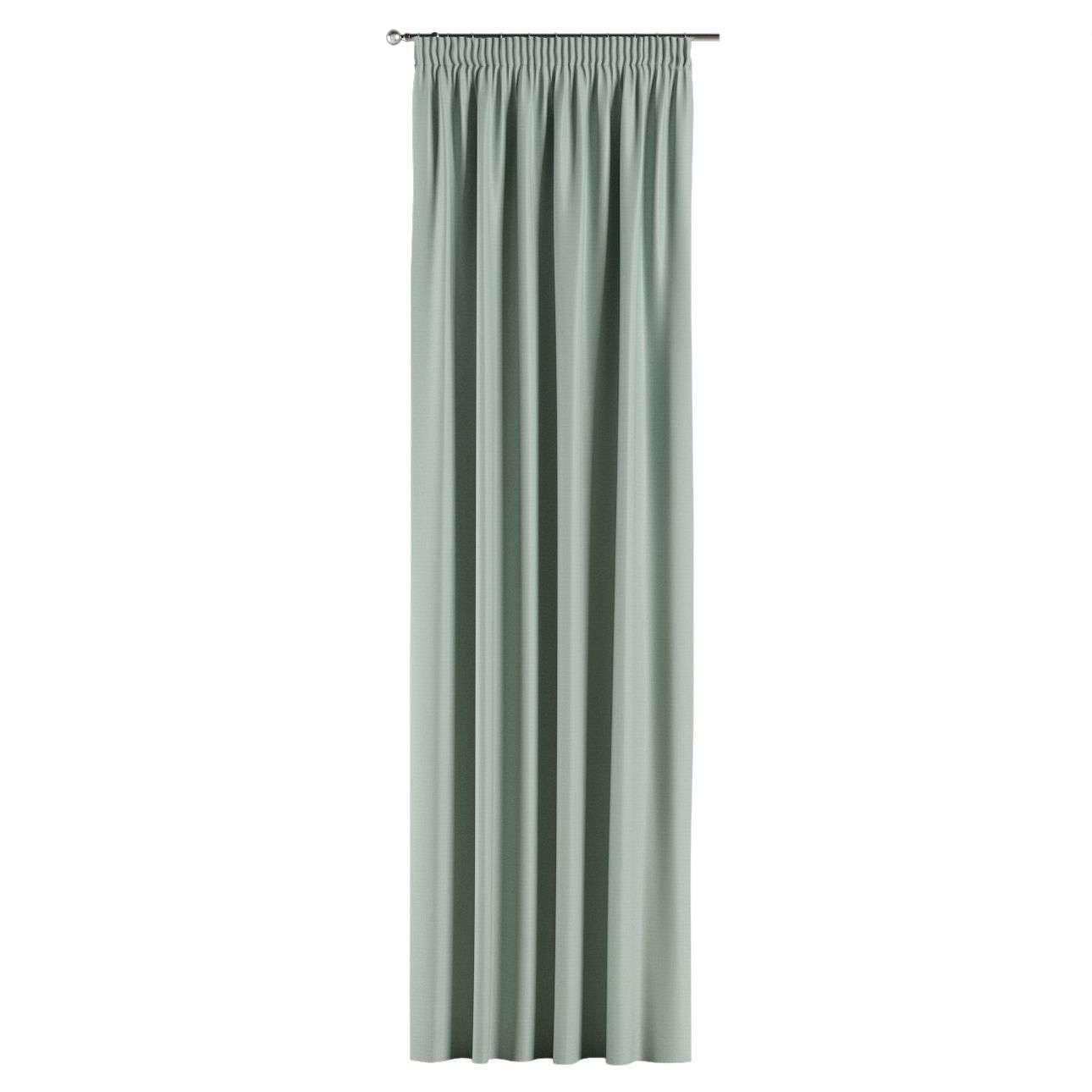 Mörkläggande gardin med rynkband 1 längd i kollektionen Blackout (mörkläggande), Tyg: 269-61