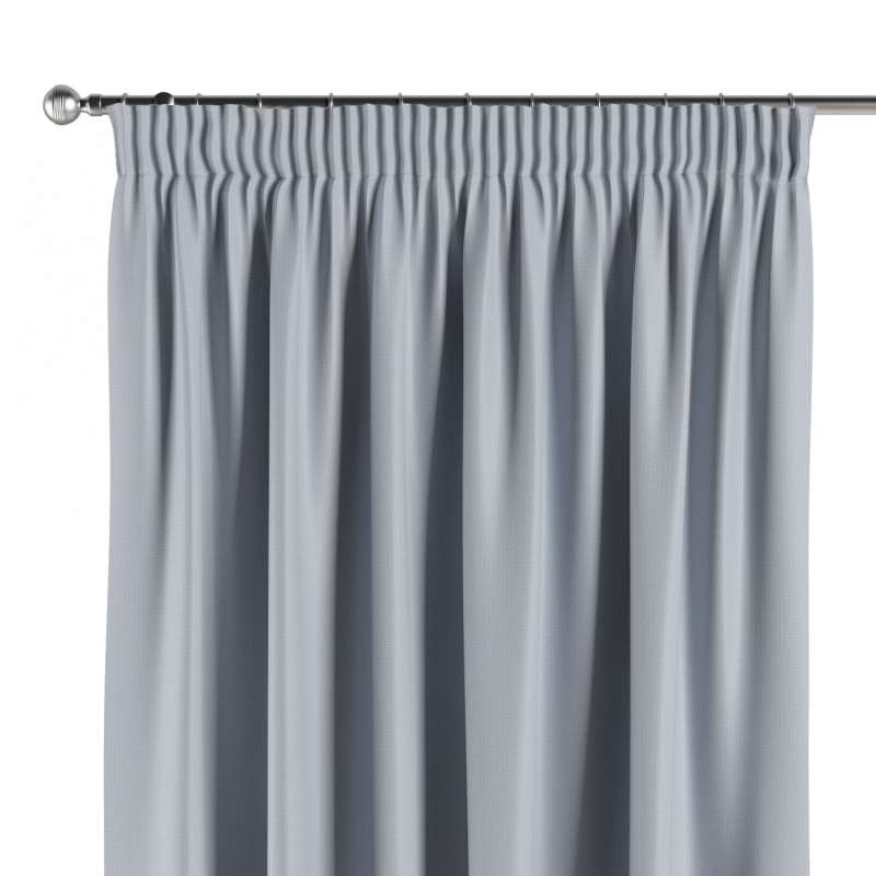 Blackout pencil pleat curtains in collection Blackout, fabric: 269-62