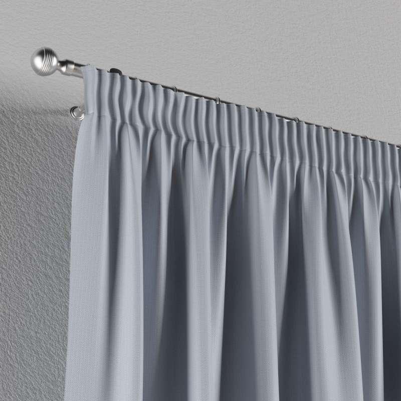 Mörkläggande gardin med rynkband 1 längd i kollektionen Blackout (mörkläggande), Tyg: 269-62