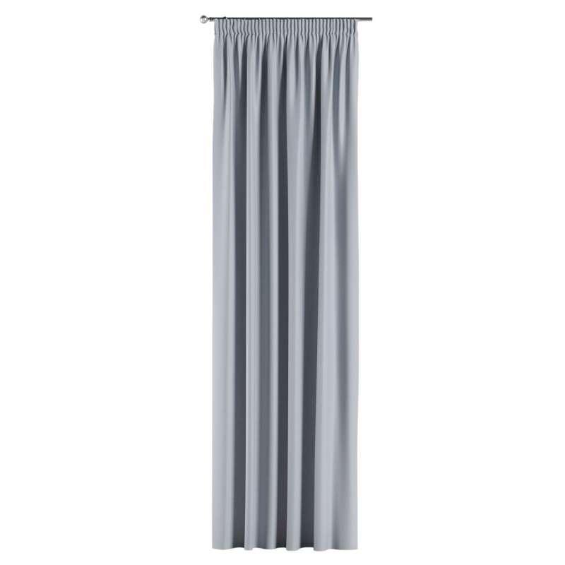 Lystet gardin med rynkebånd 1 stk. fra kolleksjonen Blackout (mørklegging), Stoffets bredde: 269-62