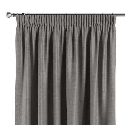 Blackout pencil pleat curtain 269-63 graphite grey Collection Blackout