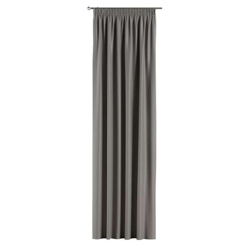 Lystet gardin med rynkebånd 1 stk. fra kolleksjonen Blackout (mørklegging), Stoffets bredde: 269-63