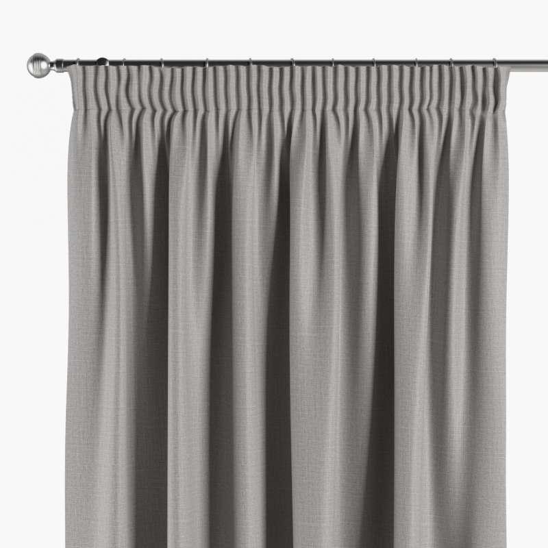 Mörkläggande gardin med rynkband 1 längd i kollektionen Blackout (mörkläggande), Tyg: 269-64