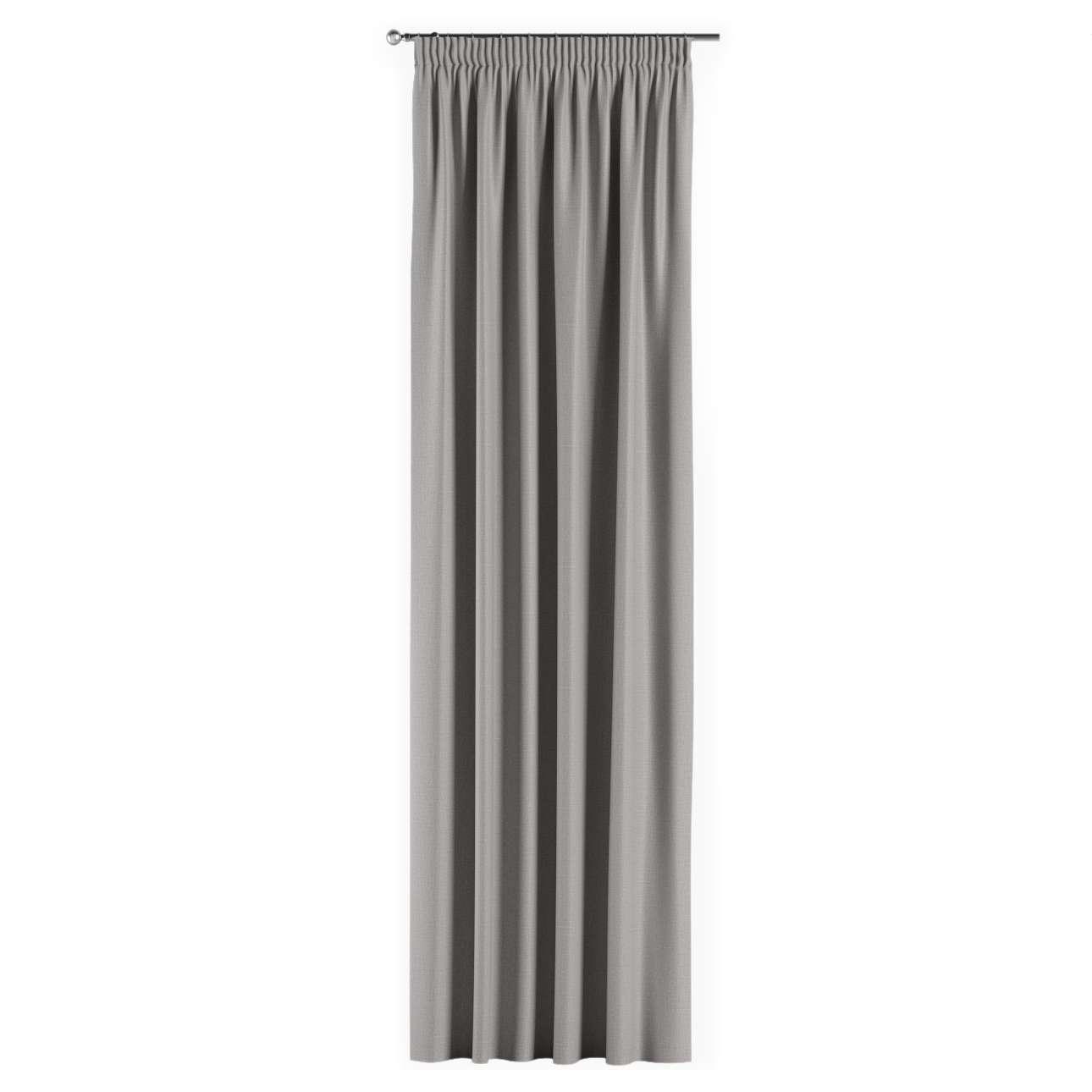 Gardin lystet med rynkebånd 1 stk. 140 × 260 cm fra kolleksjonen Blackout (mørklegging), Stoffets bredde: 269-64