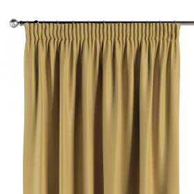 Blackout pencil pleat curtains