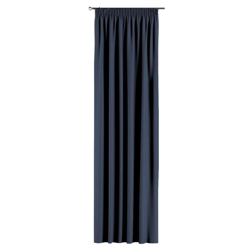Lystet gardin med rynkebånd 1 stk. fra kolleksjonen Blackout (mørklegging), Stoffets bredde: 269-16