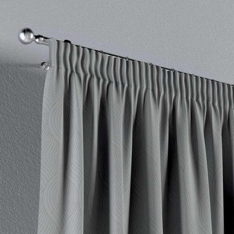 Lystet gardin med rynkebånd 1 stk. fra kolleksjonen Blackout (mørklegging), Stoffets bredde: 269-19