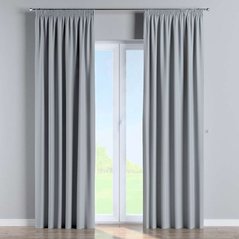 Blackout pencil pleat curtain in collection Blackout 280 cm, fabric: 269-06