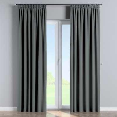 Blackout pencil pleat curtain 269-07 dark grey Collection Blackout 280 cm