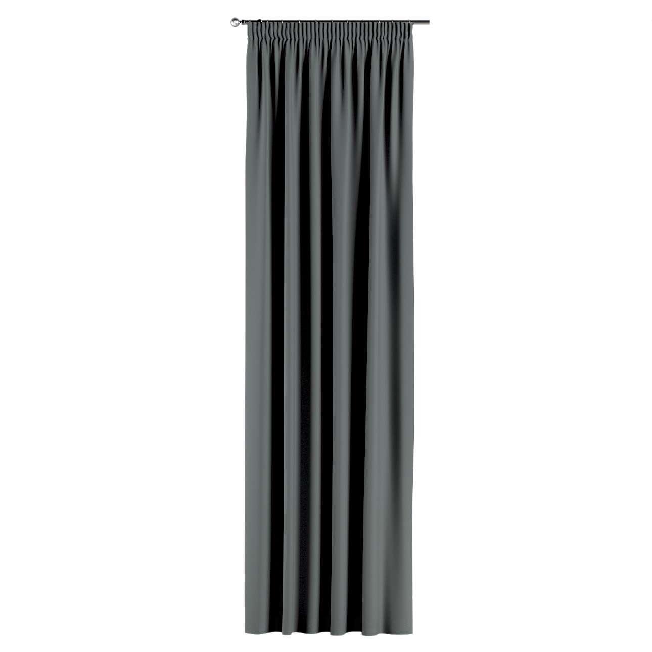 Verduisteringsgordijn met plooiband van de collectie Blackout 280 cm, Stof: 269-07