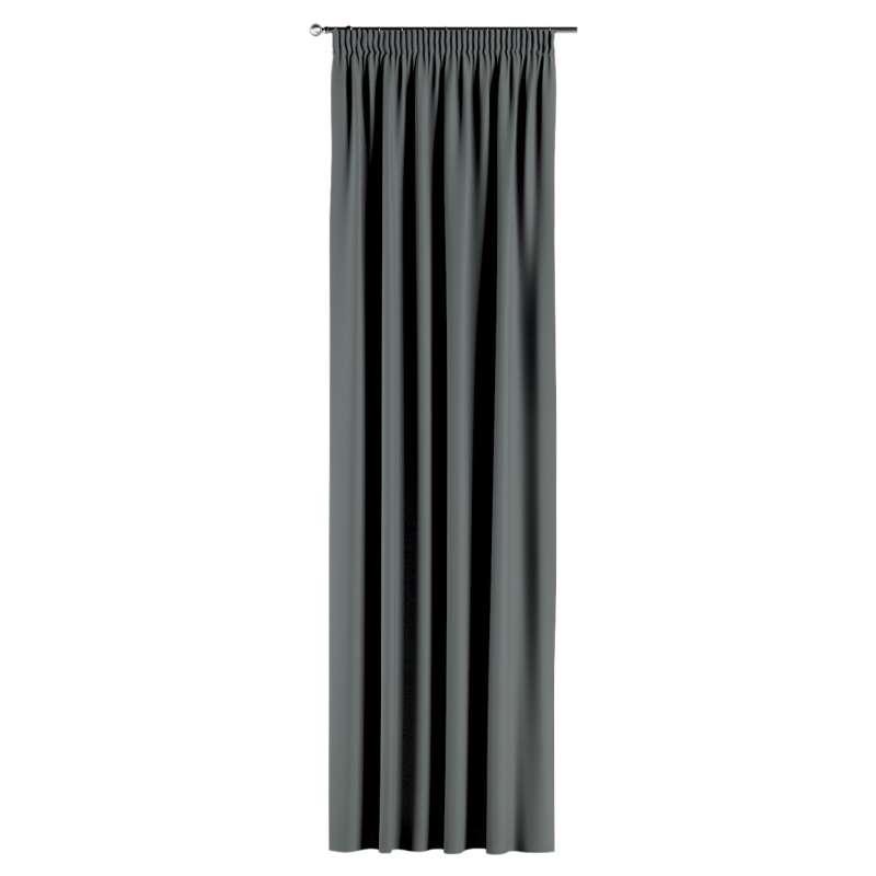Záves zatemňujúci na riasiacej páske V kolekcii Blackout 280 cm, tkanina: 269-07