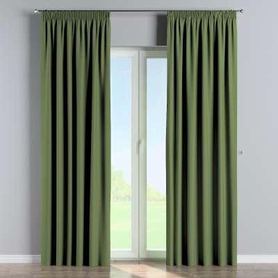 Blackout pencil pleat curtain 269-15 green Collection Blackout 280