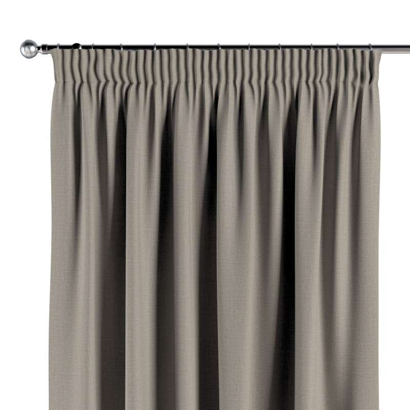 Blackout pencil pleat curtain in collection Blackout 280 cm, fabric: 269-11