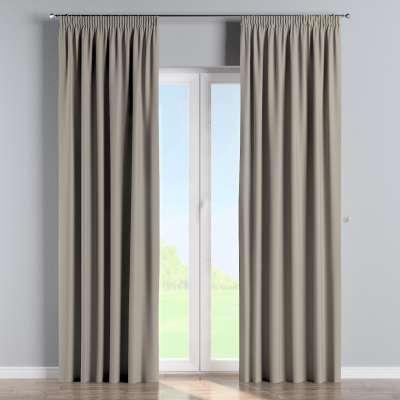 Blackout pencil pleat curtain 269-11 beige Collection Blackout 280