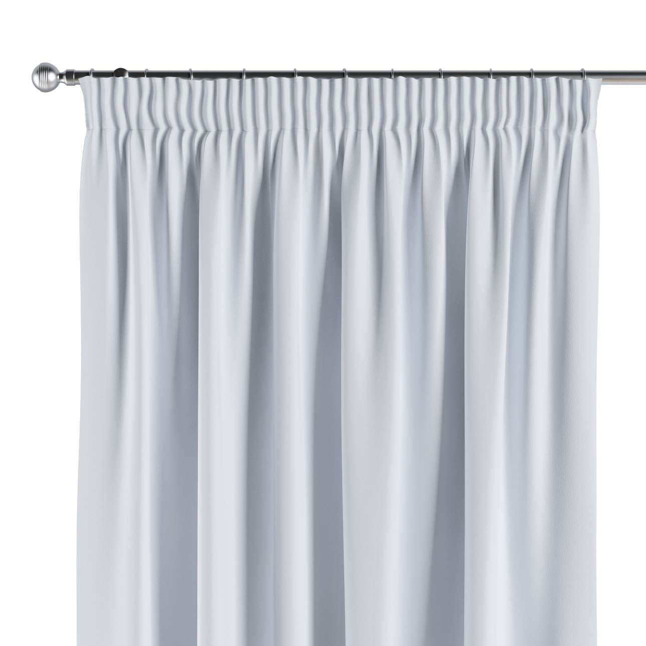 Blackout Pencil Pleat Curtains Off White Pale Greyish