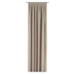 Mörkläggande gardin med rynkband 1 längd 140x260 cm i kollektionen Blackout (mörkläggande), Tyg: 269-00