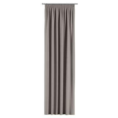 Lystet gardin med rynkebånd 1 stk. fra kolleksjonen Blackout (mørklegging), Stoffets bredde: 269-81