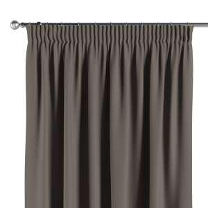 Mörkläggande gardin med rynkband 1 längd 140x260 cm i kollektionen Blackout (mörkläggande), Tyg: 269-80