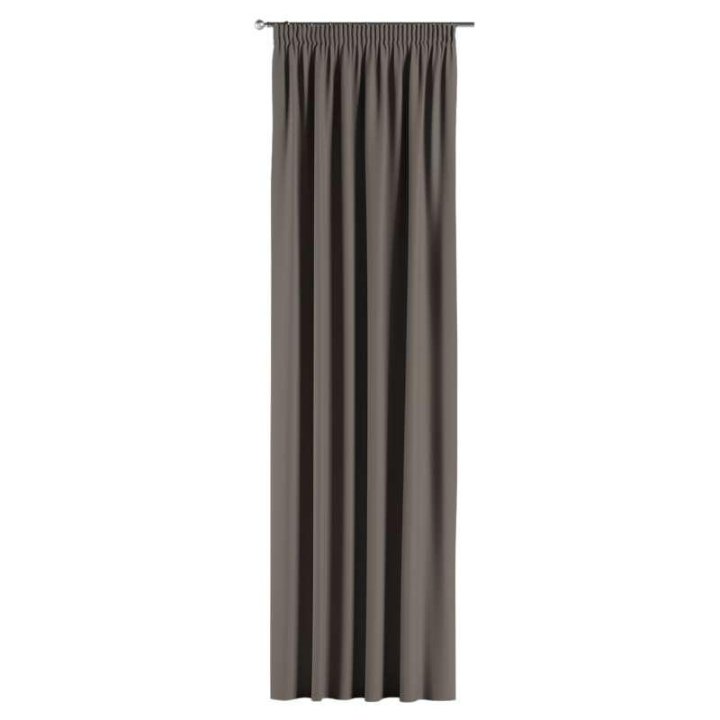 Lystet gardin med rynkebånd 1 stk. fra kolleksjonen Blackout (mørklegging), Stoffets bredde: 269-80