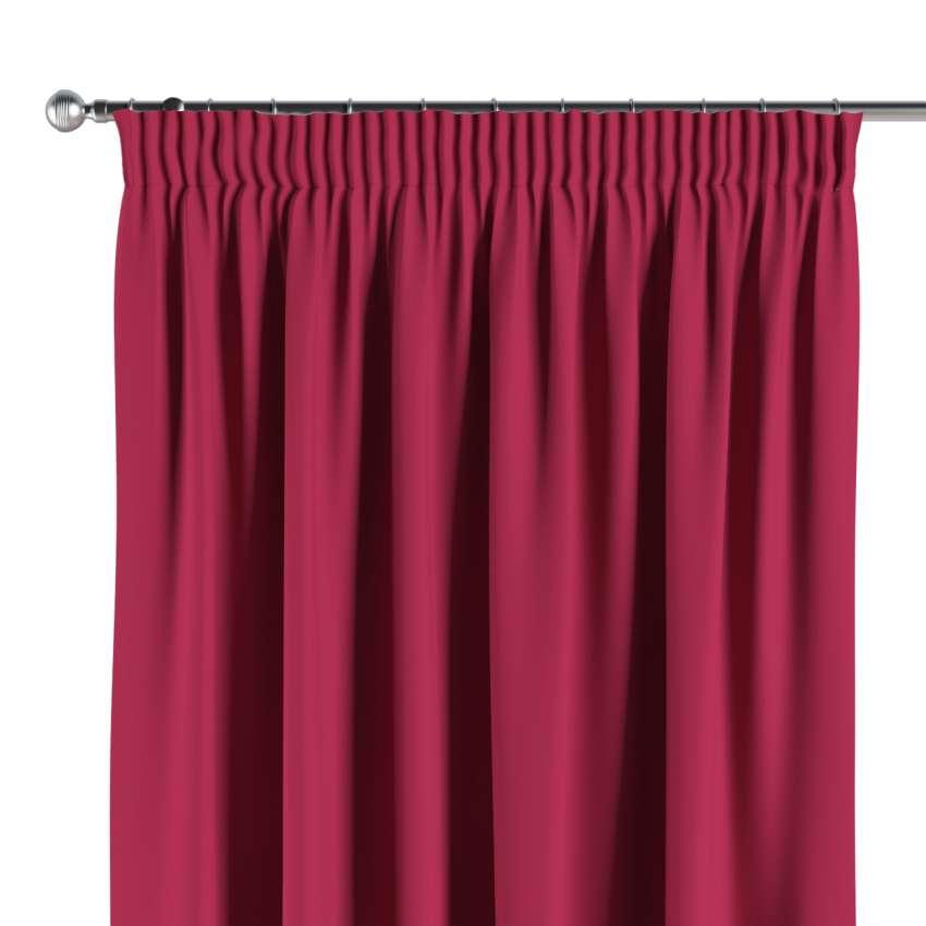 verdunklungsvorhang mit kr uselband burgund 1 stck 140x260 cm dekoria. Black Bedroom Furniture Sets. Home Design Ideas