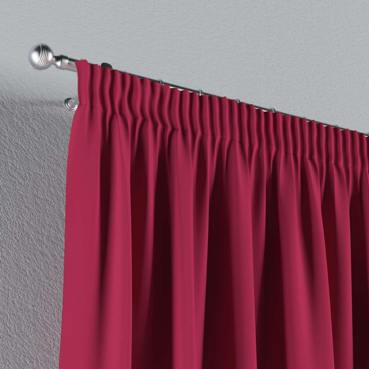 verdunklungsvorhang mit kr uselband burgund dekoria. Black Bedroom Furniture Sets. Home Design Ideas