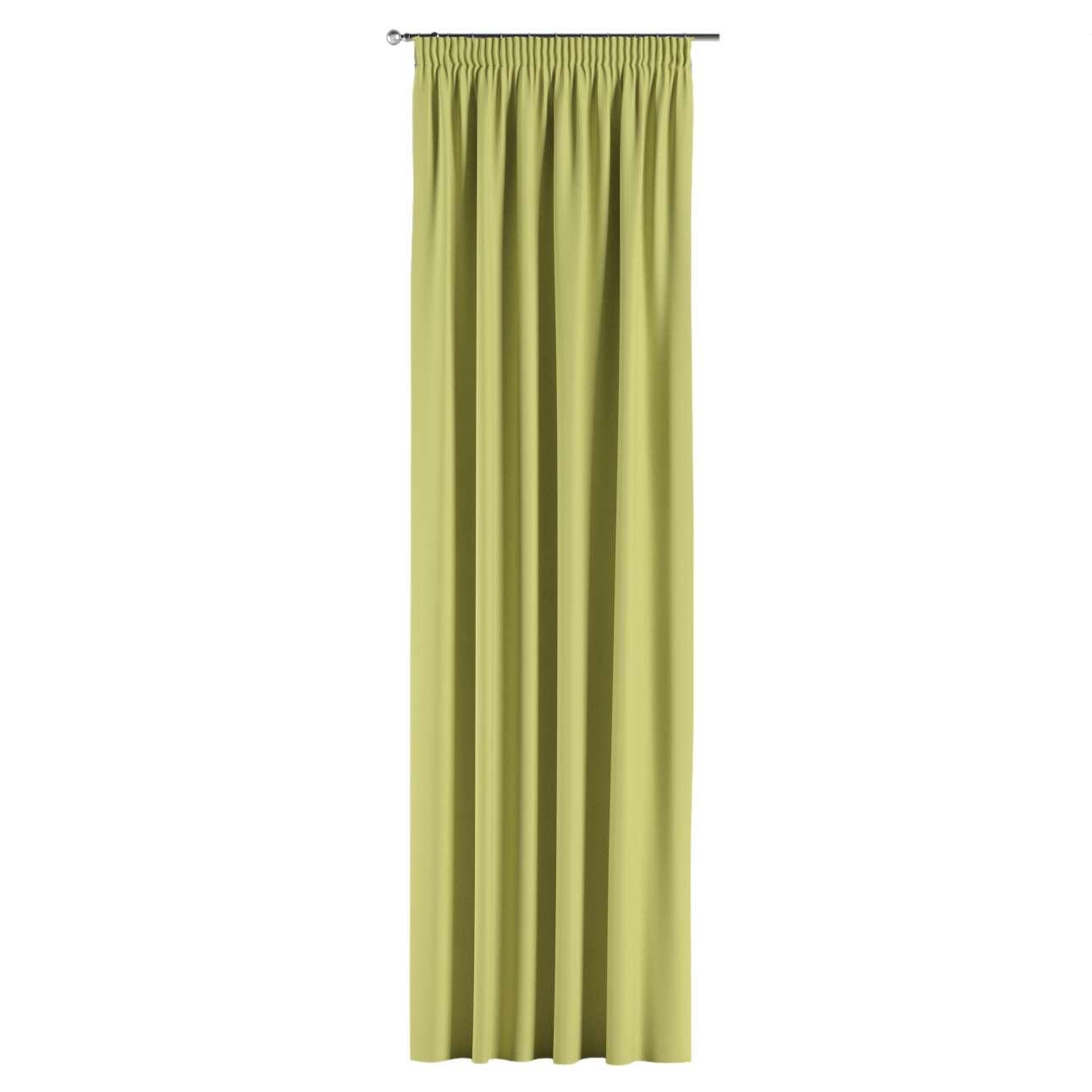 Mörkläggande gardin med rynkband 1 längd 140x260 cm i kollektionen Blackout (mörkläggande), Tyg: 269-17