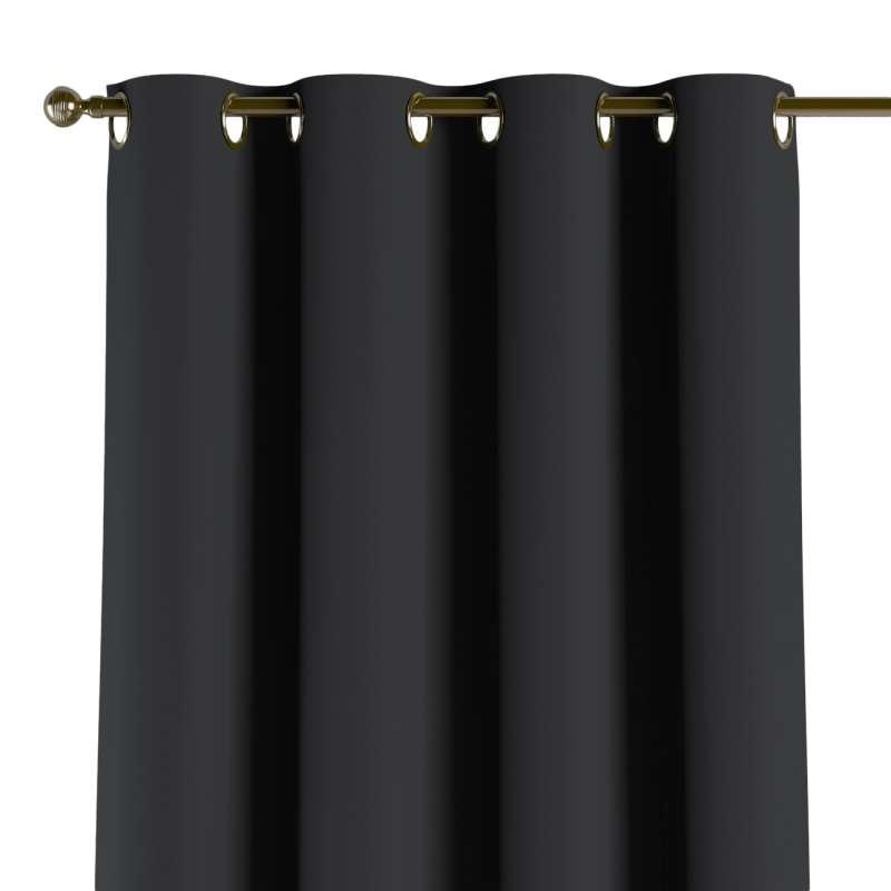 Závěs zatemňující na kroužcích v kolekci Blackout, látka: 269-99