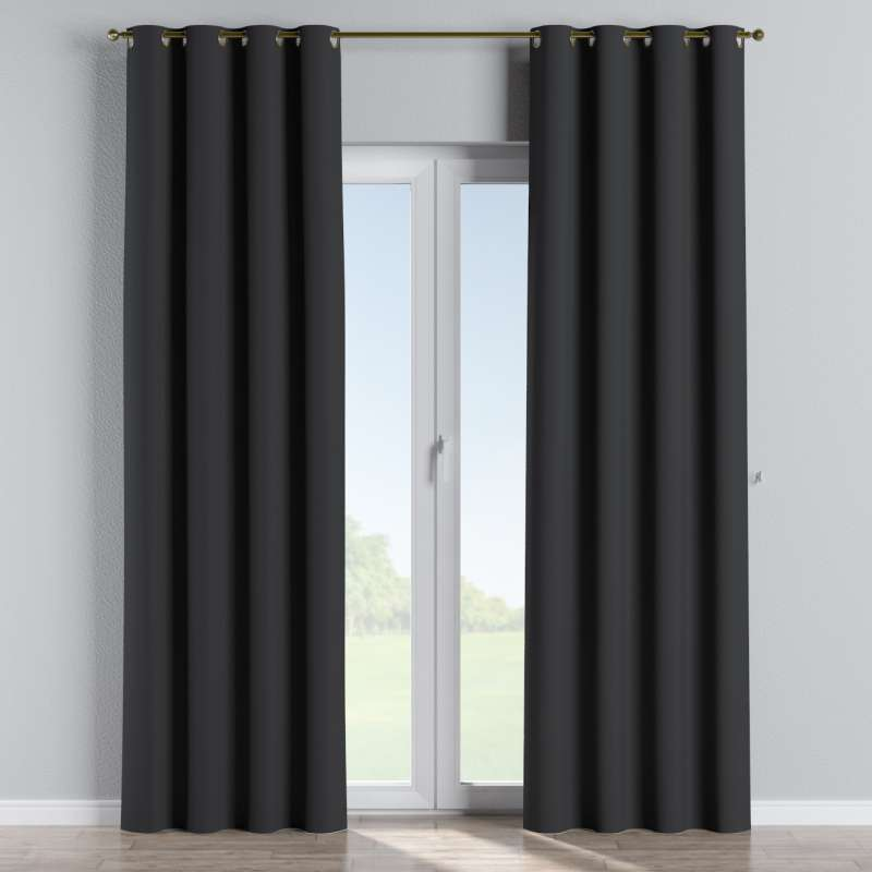 Blackout eyelet curtain in collection Blackout, fabric: 269-99