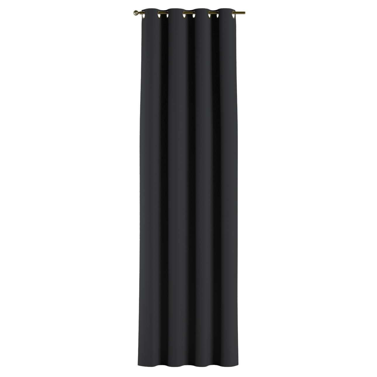 Gardin lystet med maljer 1 stk. 140 × 260 cm fra kolleksjonen Blackout (mørklegging), Stoffets bredde: 269-99