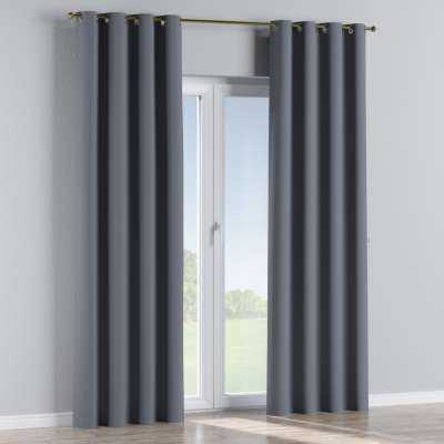 Blackout eyelet curtain 269-76 dark grey Collection Blackout