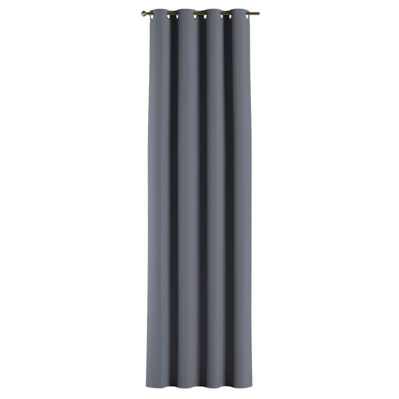 Blackout eyelet curtain in collection Blackout, fabric: 269-76
