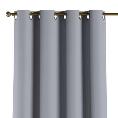 Mörkläggande gardin med öljetter 1 längd  - Dekoria.se