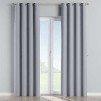 Gardin lystet med maljer 1 stk. 140 × 260 cm fra kolleksjonen Blackout (mørklegging), Stoffets bredde: 269-96