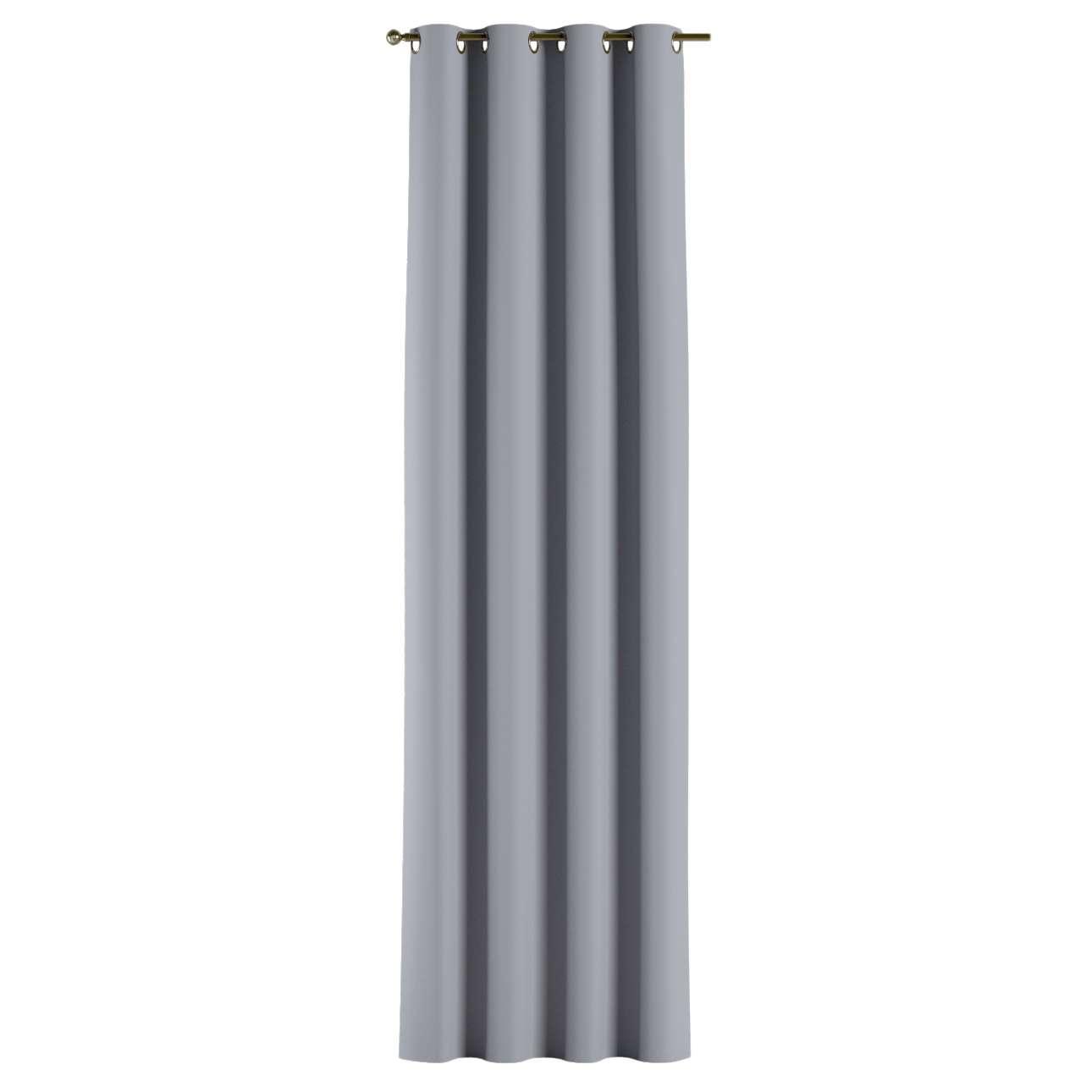 Verdunklungsvorhang mit Ösen 1 Stck. 140x260 cm von der Kollektion Blackout (verdunkelnd), Stoff: 269-96