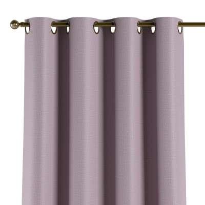 Užuolaidos temdančios žiedinės 1vnt. 269-60 pastelinis rausvas alyvinis žakardinis audinys su struktūriniu paviršiumi Kolekcija Blackout