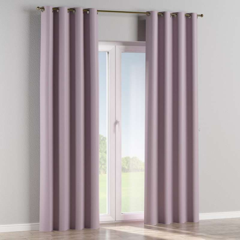 Blackout eyelet curtain in collection Blackout, fabric: 269-60