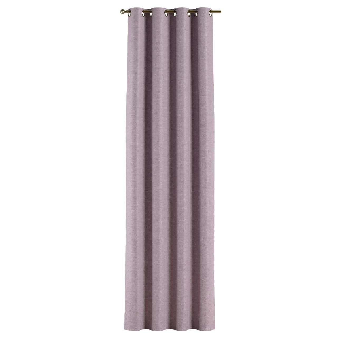 Gardin lystet med maljer 1 stk. 140 × 260 cm fra kolleksjonen Blackout (mørklegging), Stoffets bredde: 269-60