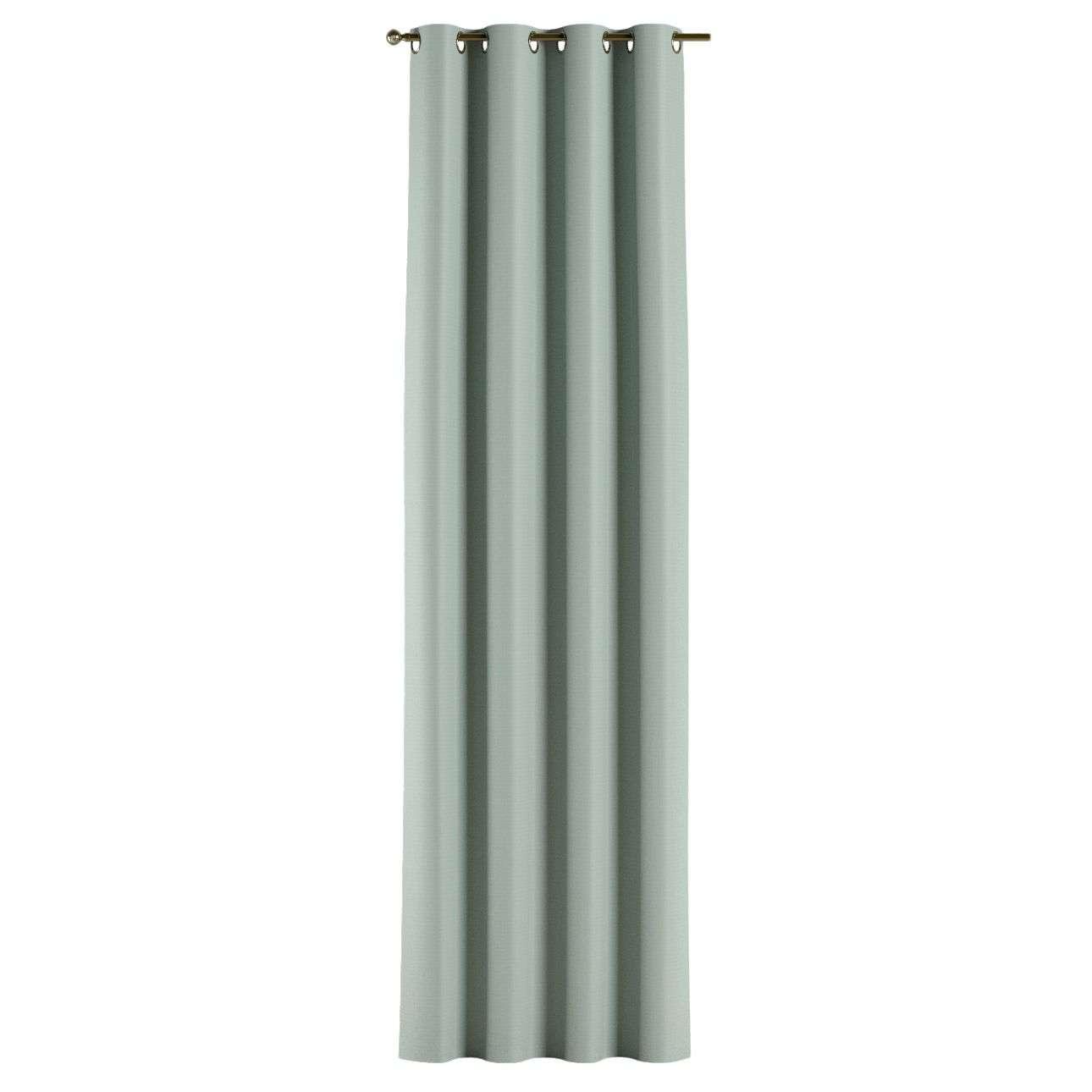 Gardin lystet med maljer 1 stk. 140 × 260 cm fra kolleksjonen Blackout (mørklegging), Stoffets bredde: 269-61