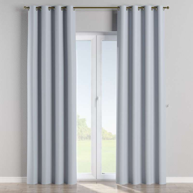 Blackout eyelet curtain in collection Blackout, fabric: 269-62