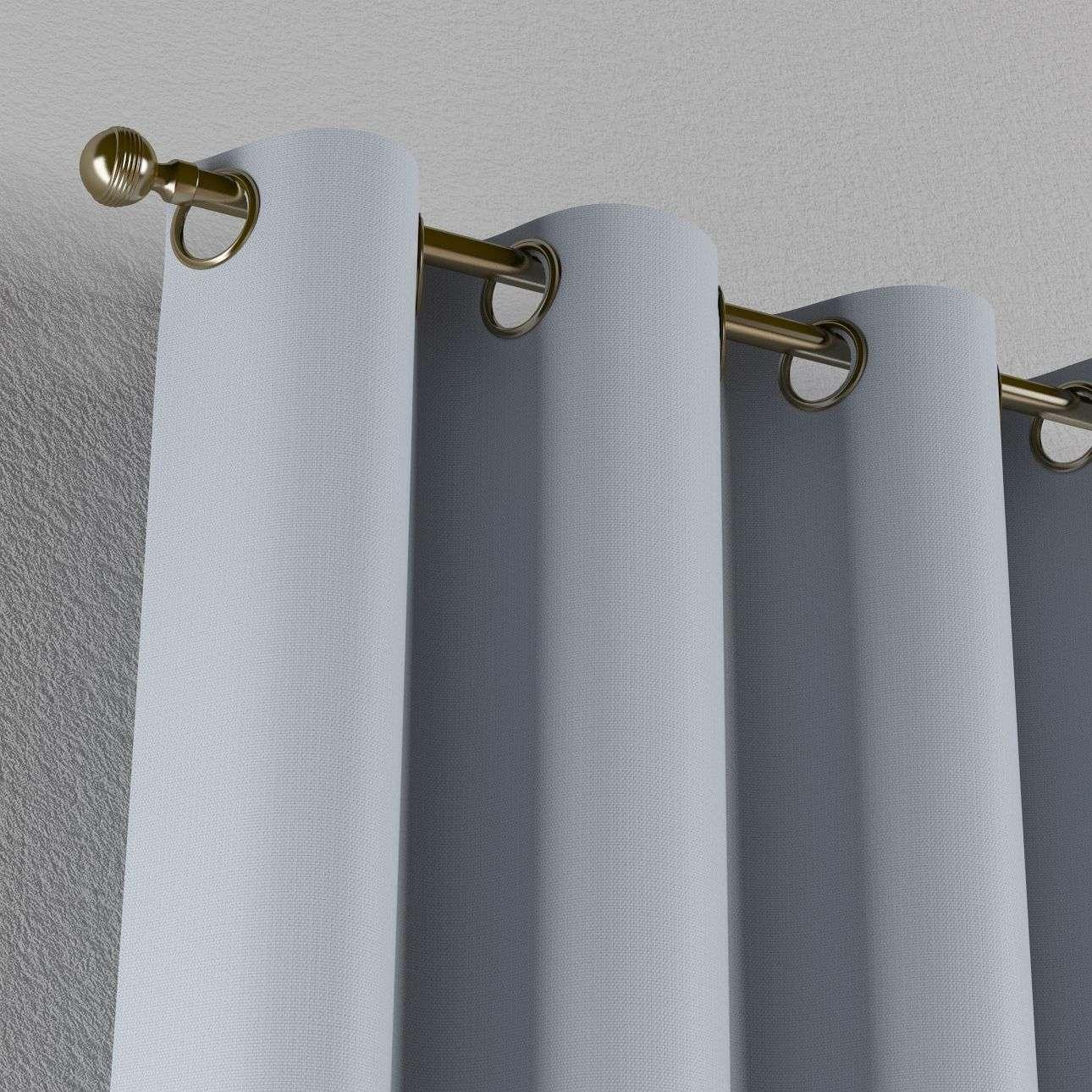 Gardin mørklægning med øskner 140 × 260 cm fra kollektionen Blackout mørklægning, Stof: 269-62